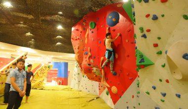 Vingroup Climbing Wall