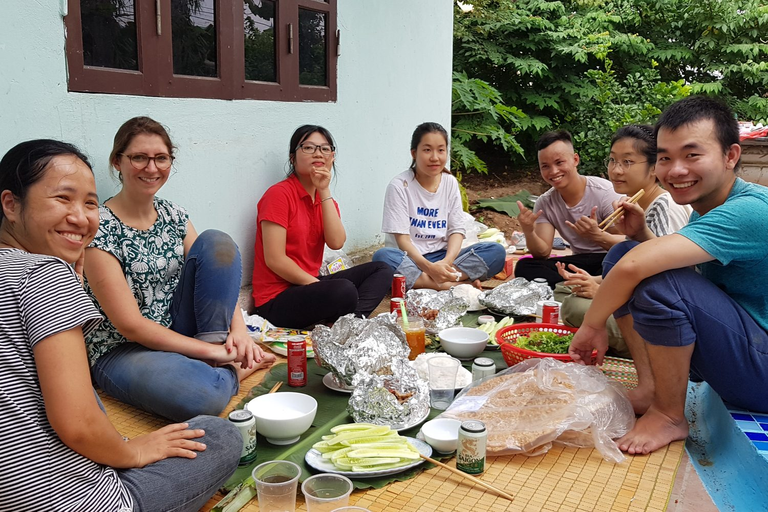 HOMA architects lunch